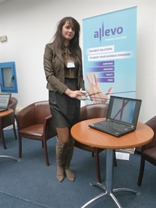 Allevo booth