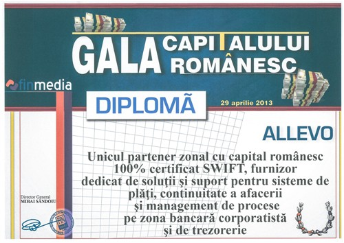 Romanian Capital Gala Award